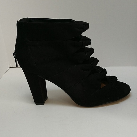 Torrid Shoes - 💕Cute! Torrid open toe bootie with knotted front